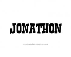 tattoo-design-name-jonathon-01