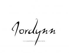 tattoo-design-name-jordynn-01