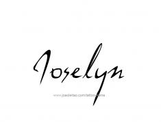 tattoo-design-name-joselyn-01