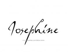 tattoo-design-name-josephine-01