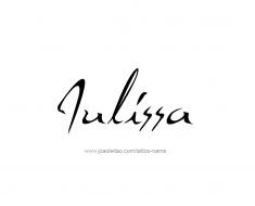 tattoo-design-name-julissa-01
