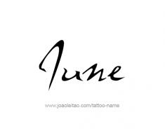 tattoo-design-name-june-01
