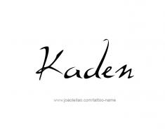 tattoo-design-name-kaden-01