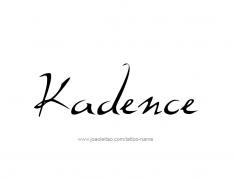 tattoo-design-name-kadence-01