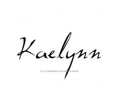 tattoo-design-name-kaelynn-01