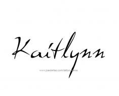 tattoo-design-name-kaitlynn-01