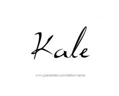 tattoo-design-name-kale-01