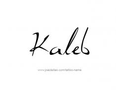 tattoo-design-name-kaleb-01