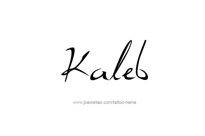 kaleb name tattoo designs tattoos with names. Black Bedroom Furniture Sets. Home Design Ideas