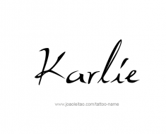 tattoo-design-name-karlie-01