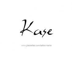 tattoo-design-name-kase-01