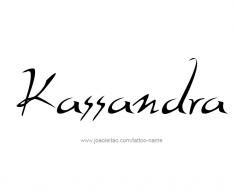 tattoo-design-name-kassandra-01