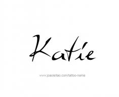 tattoo-design-name-katie-01