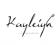 tattoo-design-name-kayleigh-01