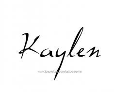 tattoo-design-name-kaylen-01