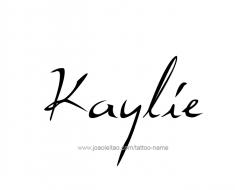 tattoo-design-name-kaylie-01