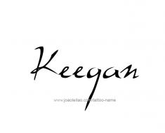 tattoo-design-name-keegan-01
