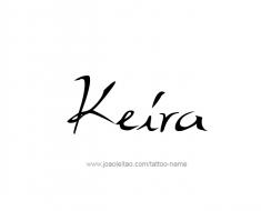 tattoo-design-name-keira-01