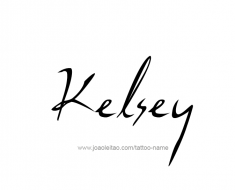 tattoo-design-name-kelsey-01