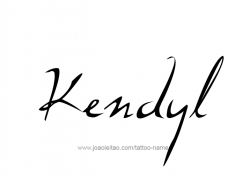 tattoo-design-name-kendyl-01