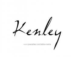 tattoo-design-name-kenley-01