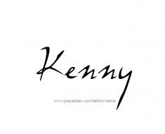 tattoo-design-name-kenny-01