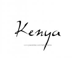 tattoo-design-name-kenya-01