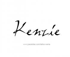 tattoo-design-name-kenzie-01