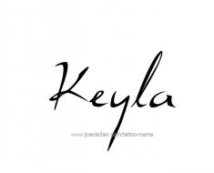 tattoo-design-name-keyla-01