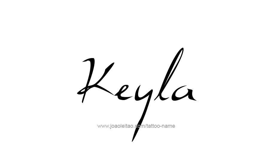 Tattoo Design Name Keyla