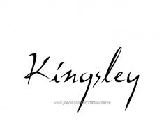 tattoo-design-name-kingsley-01