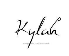 tattoo-design-name-kylah-01