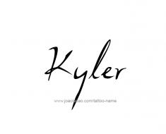 tattoo-design-name-kyler-01