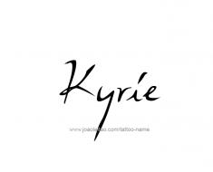 tattoo-design-name-kyrie-01