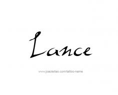 tattoo-design-name-lance-01
