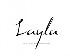 tattoo-design-name-layla-01