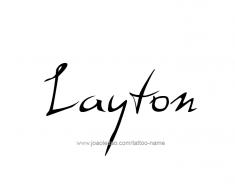 tattoo-design-name-layton-01