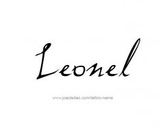 tattoo-design-name-leonel-01