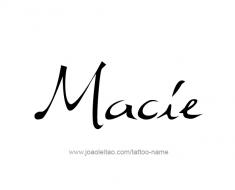 tattoo-design-name-macie-01