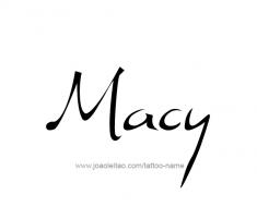 tattoo-design-name-macy-01