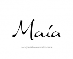 tattoo-design-name-maia-01
