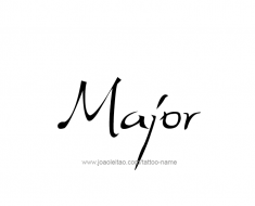 tattoo-design-name-major-01