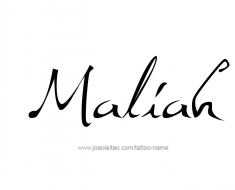 tattoo-design-name-maliah-01