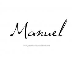 tattoo-design-name-manuel-01
