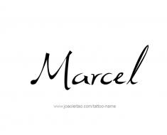 tattoo-design-name-marcel-01