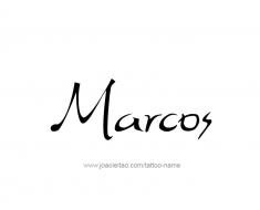 tattoo-design-name-marcos-01