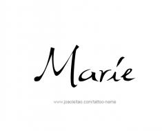 tattoo-design-name-marie-01