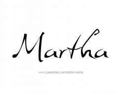 tattoo-design-name-martha-01
