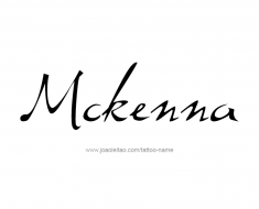 tattoo-design-name-mckenna-01