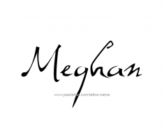 tattoo-design-name-meghan-01